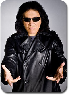 Celebrity Booking Agency - Musical Talent - Gene Simmons