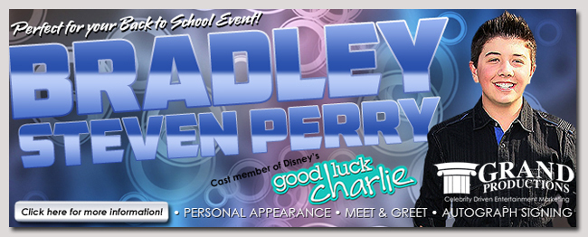 book a celebrity bradley steven perry event