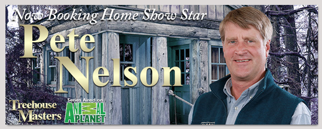 book a pete nelson event