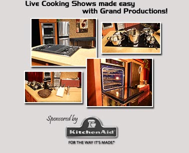 Live Cooking Show Promotion